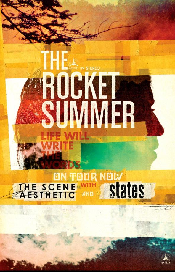 THE ROCKET SUMMER Announces U S  Headlining Tour in Support of New