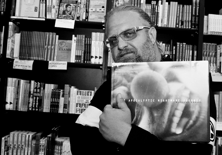 Shawn Crahan Book m Shawn Crahan at Book Soup