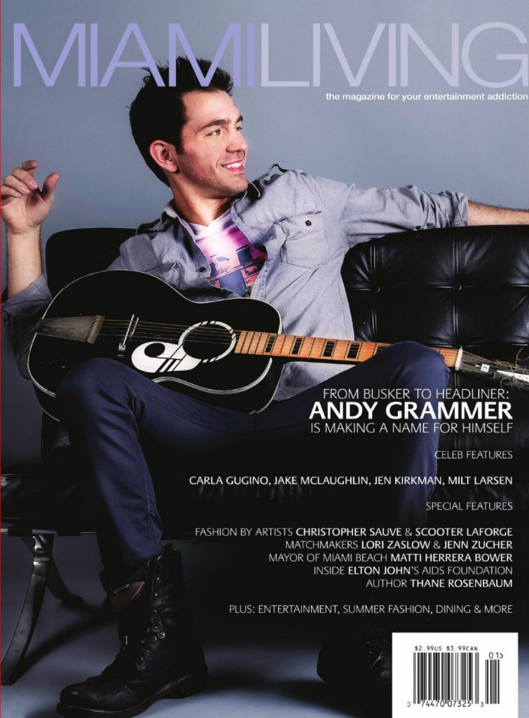 ANDY GRAMMER-Miami Living Cover