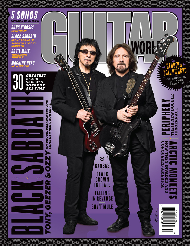 Black Sabbath - Guitar World