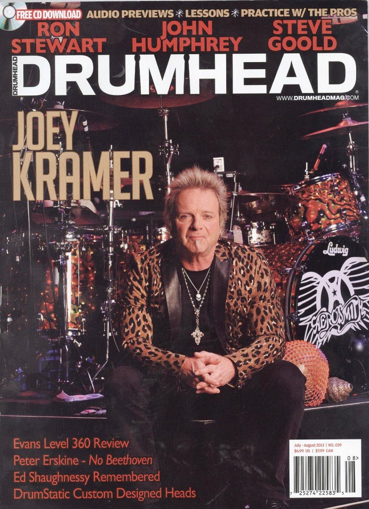 DRUMHEAD JULY-AUGUST 2013