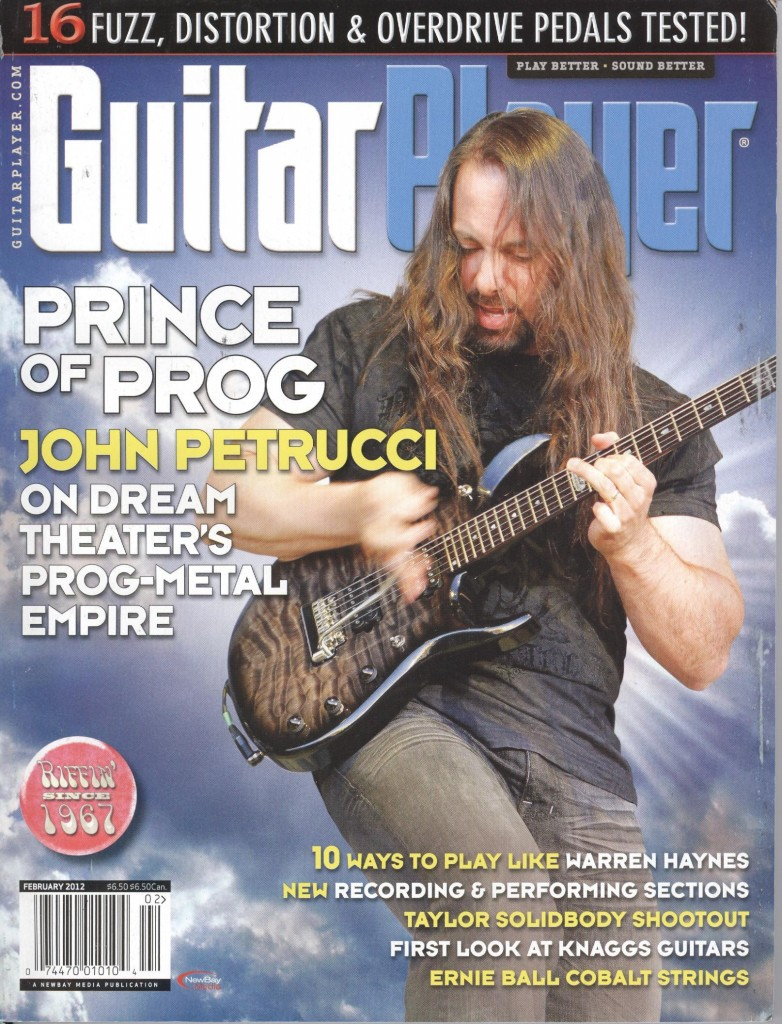 Dream Theater - Guitar Player front cover