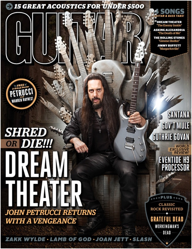 GUITAR WORLD COVER-Petrucci-Nov 2013