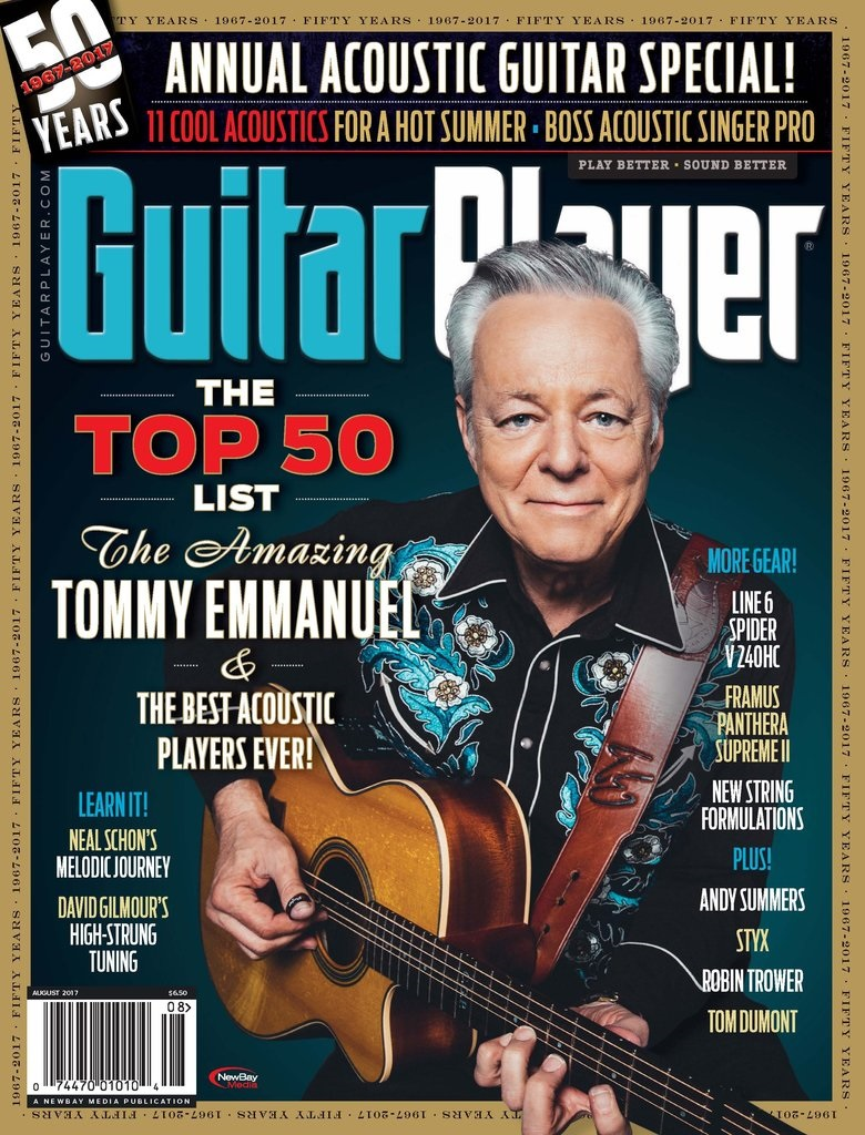Guitar Player Cover 2017