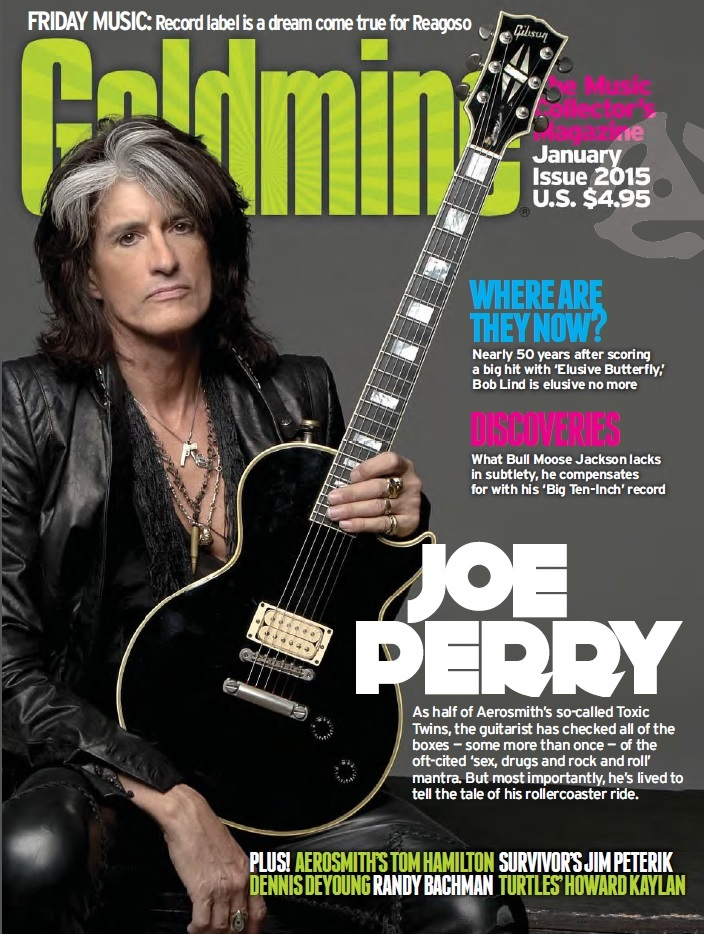 Joe Perry - GOLDMINE (January '15)