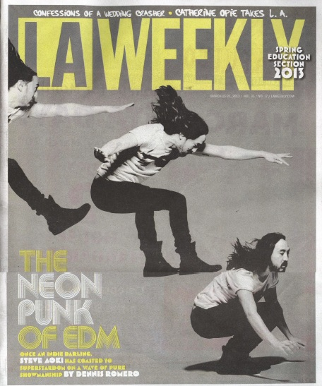 LA Weekly March 15-21, 2013 COVER