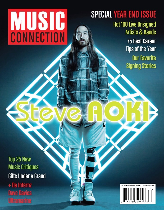 MUSIC CONNECTION - Steve Aoki