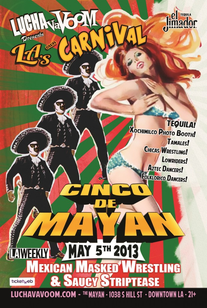 Lucha VaVOOM May 2013