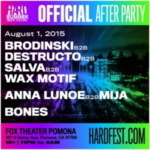 hard after party flyer